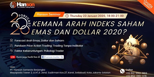 Forecast 2020: Kemana Arah Indeks Saham Emas dan Dollar 2020?