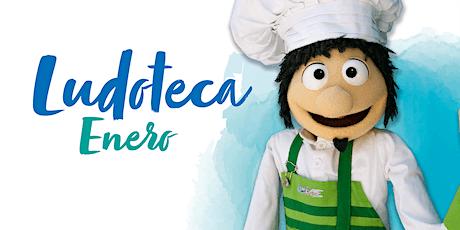Ludoteca Chef Pepo enero tickets
