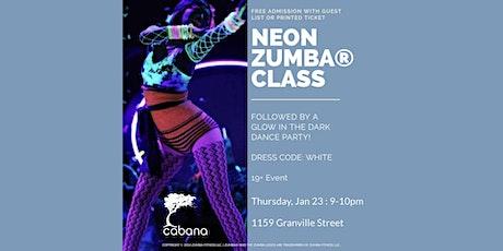 Neon Zumba® Class (19+ Event) tickets