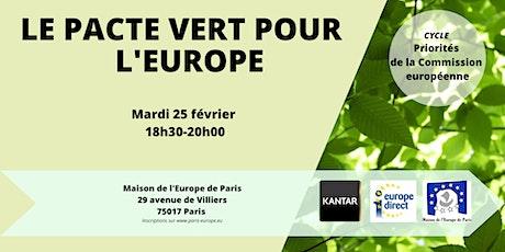 Le Pacte Vert pour l'Europe billets