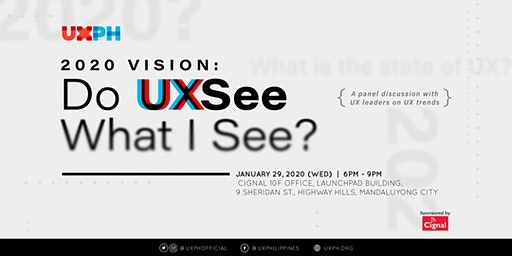 2020 Vision: Do UXSee What I See