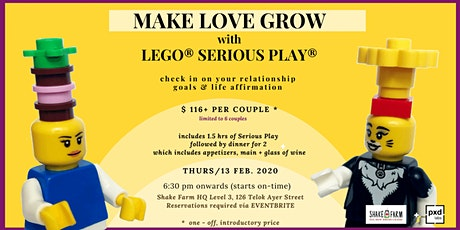 Make Love Grow with LEGO® SERIOUS PLAY® tickets