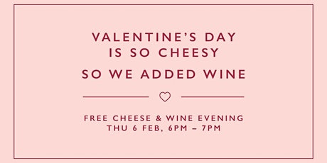 Valentine's Day is so cheesy tickets