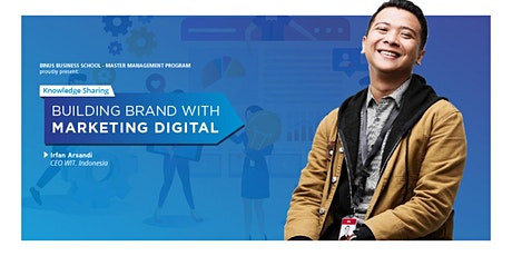 BUILDING BRAND WITH MARKETING DIGITAL tickets