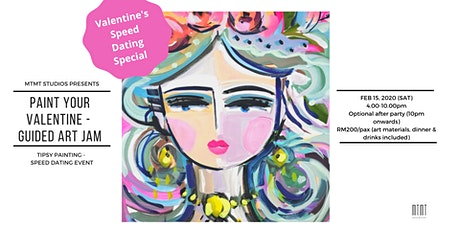 SPEED DATE & PAINT - Paint Your Valentine tickets