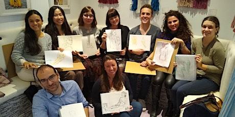 Life Art Class - Sip and Sketch entradas