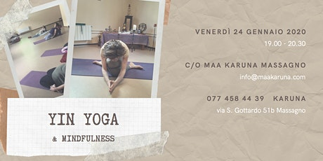 Yin Yoga & Mindfulness biglietti