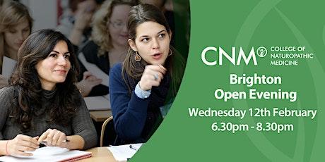 CNM Brighton - Free Open Evening tickets