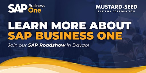 SAP Business One Roadshow in Davao