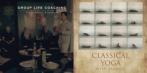 Group Life Coaching + Classical Yoga Combo Colonel Light Gardens Institute