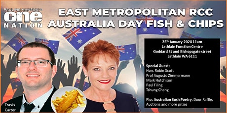 East Metro RCC Australia Day Fish and Chips tickets