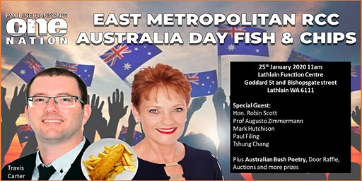 East Metro RCC Australia Day Fish and Chips
