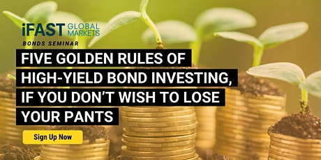 Five Golden Rules of High-Yield Bond Investing tickets