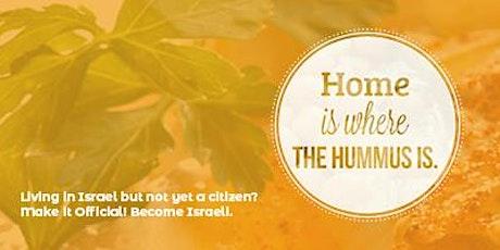 Guided Aliyah: Application Open House - Tel Aviv tickets