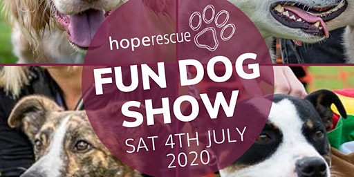 Machen Agricultural Show Dog Show- Hope Rescue