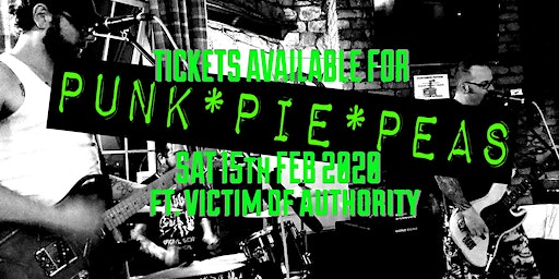 PUNK * PIE * PEAS