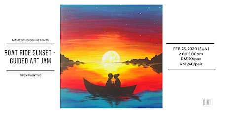 Tipsy Painting - Boat Ride Sunset tickets