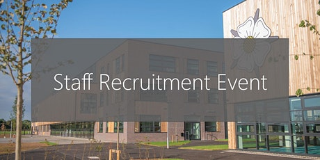 John Taylor Free School Staff Recruitment Event tickets