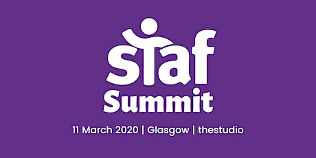 Staf Summit - Leading whole-system change: Why relationships are key tickets