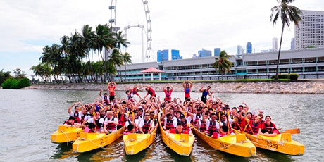 Try Dragonboat with your friends, colleagues & family! - 10 PAX MINIMUM tickets
