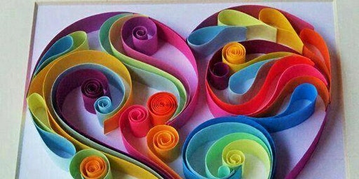 Quilling Cupid Hearts