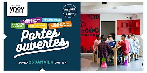 [Toulouse Ynov Campus] Portes Ouvertes - 25 Janvier 2020