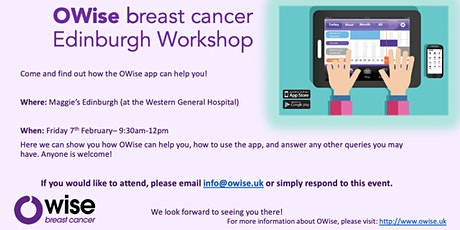 OWise breast cancer workshop (Edinburgh) tickets