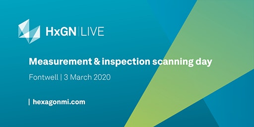 HxGN LIVE – Measurement & Inspection Scanning Day