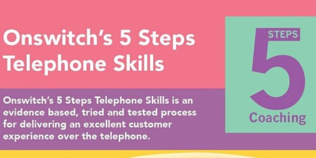 Onswitch's 5 Steps Telephone Skills - Brisbane tickets