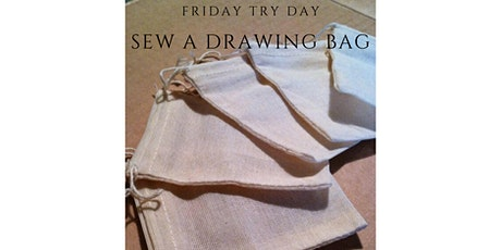 Friday Try Day - Sewing Organic Muslin Bag for Plastic Free Veg Shop tickets