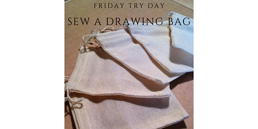Friday Try Day - Sewing Organic Muslin Bag for Plastic Free Veg Shop