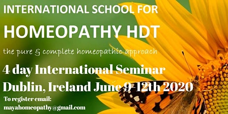 HDT International Seminar Dublin tickets