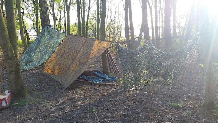 Outdoor Adventure Bushcraft Camp - February Half T image