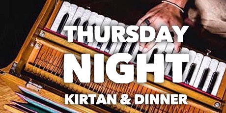 Thursday Night Kirtan & Dinner - Mantra Music Meditation - Kirtan Sydney tickets
