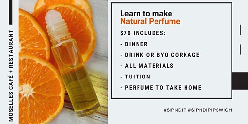 Learn to make natural essential oil based perfume!