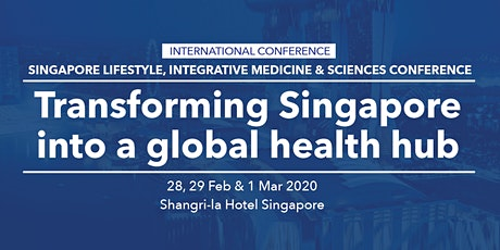 Transforming Singapore into a global health hub tickets