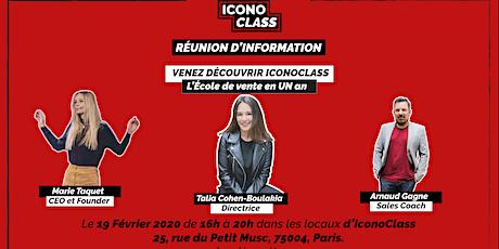 Réunion d'information- IconoClass billets