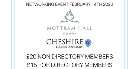 Cheshire Business Directory Networking Event tickets