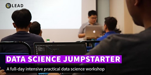 1-day practical data science workshop // Data Science Jumpstarter