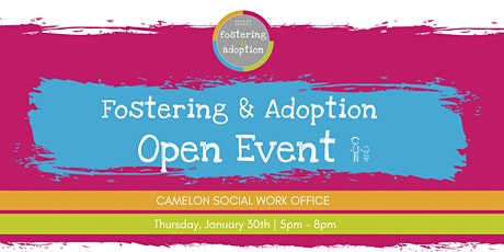 Falkirk Council Fostering & Adoption Open Event January 2020 tickets
