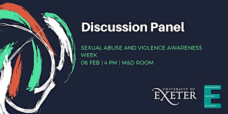 Discussion Panel: Sexual Abuse and Violence Awareness Week tickets