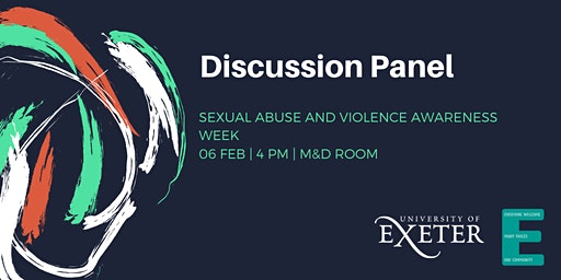 Discussion Panel: Sexual Abuse and Violence Awareness Week