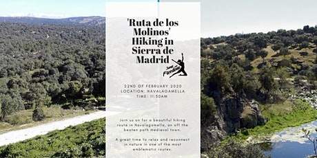"Hiking ""Ruta de los Molinos"" in Sierra de Madrid tickets"
