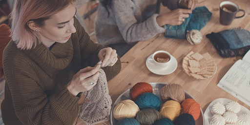 Knit Night at the National Library