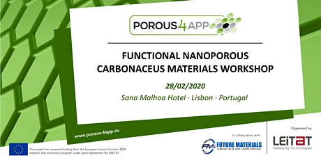 Functional Nanoporous Carbonaceous Materials Workshop bilhetes
