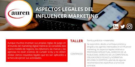 ASPECTOS LEGALES DEL INFLUENCER MARKETING entradas