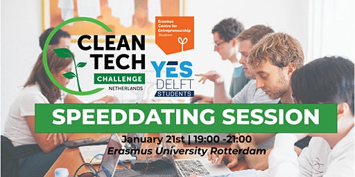 CleanTech Challenge Speeddating & Networking Session YES!Delft Students & ECE Students