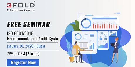 FREE Seminar: ISO 9001:2015 Requirements and Audit Cycle tickets