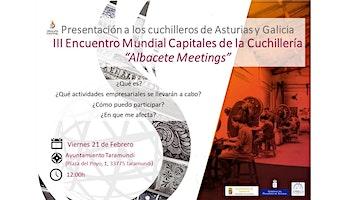 Presentación III Encuentro Mundial Capitales de la Cuchillería