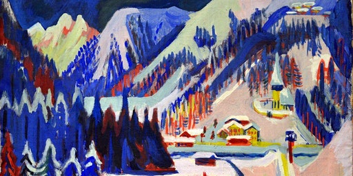 Color drawing class in Kunsthaus – Ernst Ludwig Kirchner